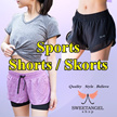 =SweetangelShop Local Seller Local Exchange= Sports Shorts Skirts Skorts with or without inner tights Running Gym Yoga shorts Local Seller Local Exchange