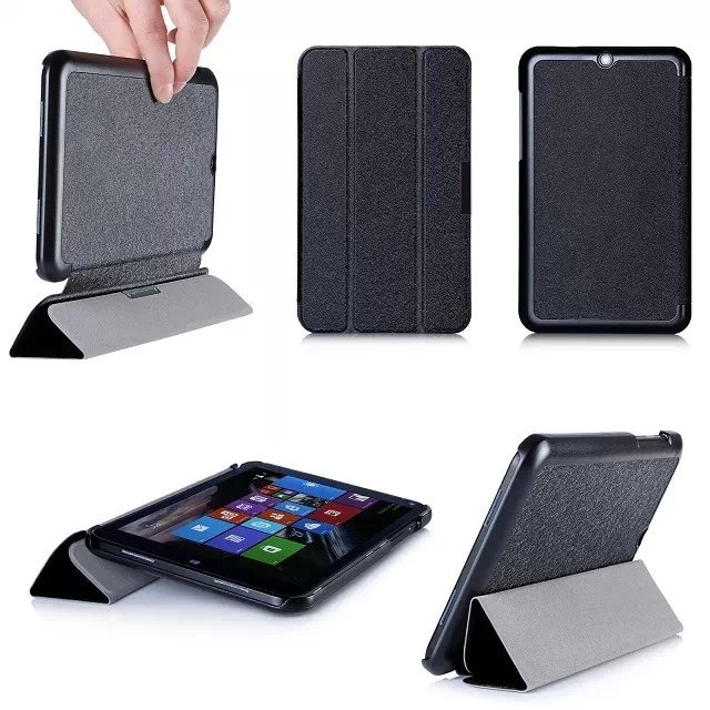 Luxury Folding bracket Leather Case for Lenovo A10-70/A7600、Lenovo Thinkpad8/8.3inch、Lenovo miix2 8.0