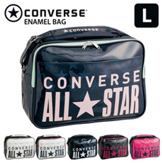 コンバース(CONVERSE) スポーツバッグ エナメルバッグ 通学バッグ ショルダーバッグ Lサイズ C1600052 L 27L【送料無料】