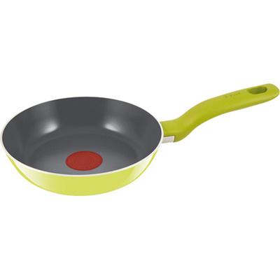 ティファール(T-fal) セラミックコントロール グリーンフライパン19cm D44702 【ホーム&キッチン 鍋・フライパン】の画像