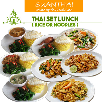 [Suan Thai] Thai Set Lunch Deals for only S$12.8 instead of S$0