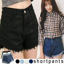 【Denim 】★Top style Slim Women Shorts  / Long Pants ★ S-XL SIZE ★ PLUS SIZE ★ Stretchable Trouser