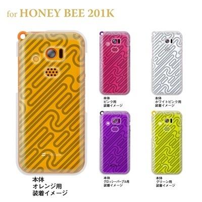 【HONEY BEE ケース】【201K】【Soft Bank】【カバー】【スマホケース】【クリアケース】【トランスペアレンツ】【パイプ】 06-201k-ca0021sの画像
