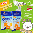 [OFFER] GOATS MILK The Healthier Choice - Delamere UHT Whole Goat Milk from welfare assured herds - Suitable for lactose intolerant allergy to cows milk. Good for skin. 1 litre pack.