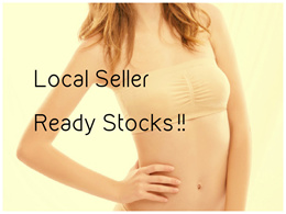 Seamless Comfortable Bandeau Bra / Strapless Tube / Great for Layering / Tube Top