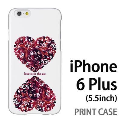 iPhone6 Plus (5.5インチ) 用『0612 love in the air』特殊印刷ケース【 iphone6 plus iphone アイフォン アイフォン6 プラス au docomo softbank Apple ケース プリント カバー スマホケース スマホカバー 】の画像