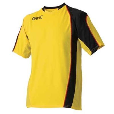 ガビック(GAVIC)GAME-SHIRTS/SGA6104YEL/BLK【サッカーフットサルウェアゲームシャツユニフォーム】【GAPRS】