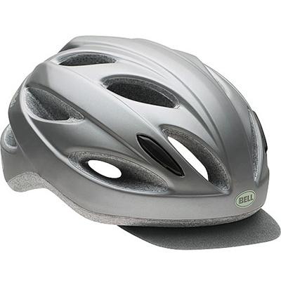 ベル(BELL) ヘルメット STRUT SOFT BRIM / ストラートソフトブリム ACTIVE マットシルバー/ミント UW/50-57cm 【自転車 サイクル レース 安全 二輪】の画像