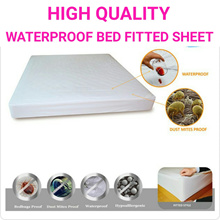 ♥waterproof mattress protector♥waterproof bedsheet singel queen size bed fitted sheet