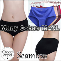 [New Year sales] Premium Seamless Panties/Super Comfy Seamless Underwear /Easy to clean Sanitary Menstrual/Many colors M~XL