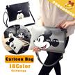 New Update◆Cute Disney Cartoon Design PU Leather Crossbody Bags  for women◆Shoulder Bags/ Sling bag/ Daily Bag/ Travel Bag/ Mickey Bag/ Hello Kitty Bag-31 colors-MG1009 model