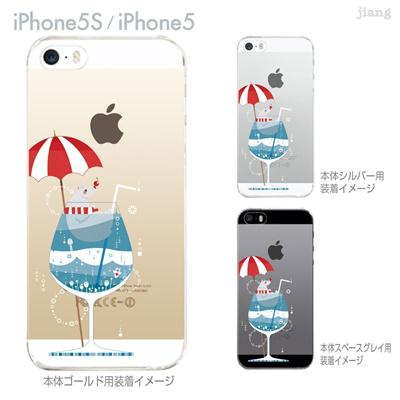 【iPhone5S】【iPhone5】【Clear Arts】【iPhone5sケース】【iPhone5ケース】【カバー】【スマホケース】【クリアケース】【クリアーアーツ】【izumi】【しろくまソーダ】 49-ip5s-iz0010の画像