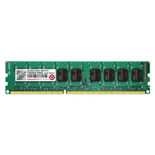 【クリックで詳細表示】◇ 【8GB】 Transcend トランセンド サーバー ワークステーション用 PC3-12800 (DDR3-1600) 1.5V 240pin ECC DIMM TS1GLK72V6H ◆メ