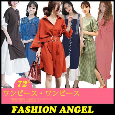 ※6/14更新!数量限定※送料無料!韓国ファッション長袖、半袖ワンピースセレブなOL気質の職業の服装,レーススカート,レディースファッション