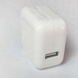 【到着後レビューを書いてメール便送料無料】iPad 充電器/10W USB power Adapter 【iPad、iPhoneにも対応】10P12Sep14の画像