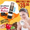 AeroPress® Coffee Maker with FREE Mini Tote Bag