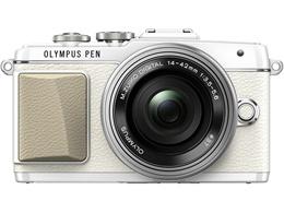 OLYMPUS PEN Lite E-PL7 14-42mm EZレンズキット [ホワイト]