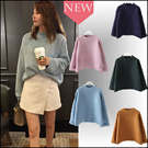 New arrivals! Korea style!Sweater/•Cardigan/bat sleeve knit cardigan comfortable/Quality Cardigan at affordable prices! Korean Style Basic Sweater★5 colour Sj183