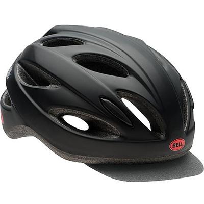 ベル(BELL) ヘルメット STRUT SOFT BRIM / ストラートソフトブリム ACTIVE マットブラック/インフレッド UW/50-57cm 【自転車 サイクル レース 安全 二輪】の画像