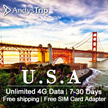 T-mobile【USA Prepaid Sim Card】 Unlimited Data up to 30 Days+Unlimited 4GLTE data/local calls/SMS