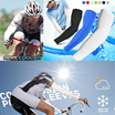 1pair Cooling Sport Skins Arm Sleeves Sun Protective UV Cover Golf / cool arm sleeves / hand cover / half glove / haze mask /towel/UV Protection / Cycle / Tennis / Hiking / Buff / Bandana / Scarf