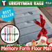 [BUNDLE of 2]Anti-Slip Memory Foam Mat (40cm x 60cm) ★Memory Foam Bathroom Rug ★High Water Absorbent ★Microfiber ★High Density ★Silky★Many Colours