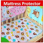 10*Mattress Protector Sheet Waterproof Bamboo Fiber Cotton Baby Cot Crib New Born Urine
