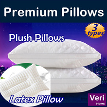 ★save shipping cost by Qprime delivery★Premium Pillows!★【Plush Pillows/Latex Pillow】Soft n comfy!