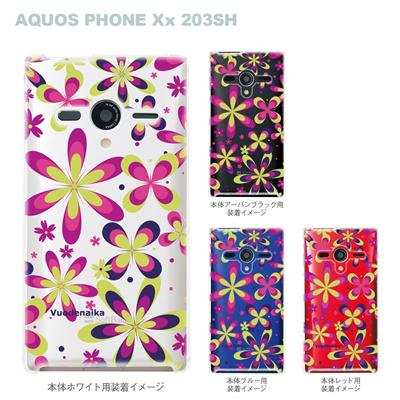 【AQUOS PHONEケース】【203SH】【Soft Bank】【カバー】【スマホケース】【クリアケース】【Vuodenaika】 21-203sh-ne0020caの画像