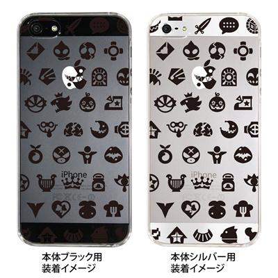 【iPhone5S】【iPhone5】【HEROGOCO】【キャラクター】【ヒーロー】【Clear Arts】【iPhone5ケース】【カバー】【スマホケース】【クリアケース】【おしゃれ】【デザイン】【シンプル】 29-ip5-nt0006の画像