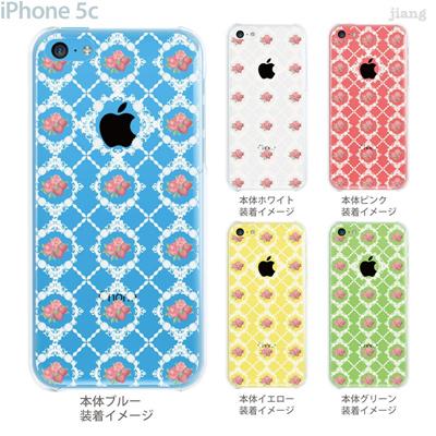 【iPhone5c】【iPhone5cケース】【iPhone5cカバー】【iPhone ケース】【クリア カバー】【スマホケース】【クリアケース】【フラワー】【Vuodenaika】 21-ip5c-ne0062の画像