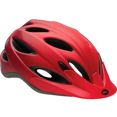 ベル(BELL) ヘルメット PISTON / ピストン ACTIVE マットレッドコメット UA/54-61cm 【自転車 サイクル レース 安全 二輪】の画像