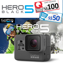 [GOPRO] GOPRO HERO BLACK 5 and 4★ COUPON ACCEPTED★Ready Set |READY STOCK|  4K Ultra HD Waterproof / Voice Control / 2-Inch Touch Display