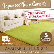 *NEW LAUNCH* Fleece Carpet BIG Size! Carpet | Japanese Carpet | Thick Floor Mat