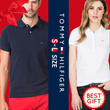 ★Christmas Gift★[Tommy Hilfiger]100% Authentic men and women short-sleeved pK polo T-shirts