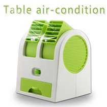 2 way wind Mini-Fan ▶USB Table Air-Condition◀ Newest Research of Double Air Outlet Move up n down / Fresh n Fragrant Wind Fan