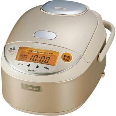 【クリックで詳細表示】象印 象印 圧力IH炊飯ジャー 極め炊き 5.5合炊き NP-ZE10-NL シャンパンゴールド E363007H