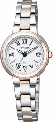 [シチズン]CITIZEN 腕時計 xC クロスシー HAPPY FLIGHT エコ・ドライブ電波時計 ES9004-52A レディース