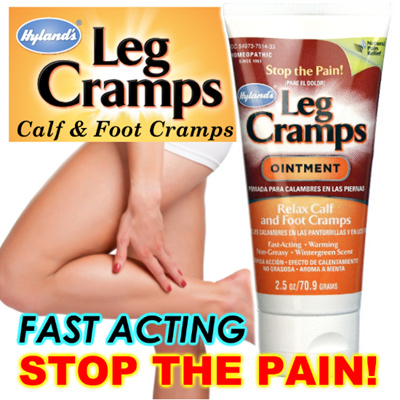 how to stop leg cramps fast