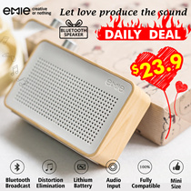 ▶EMIE Bluetooth Speaker / High Quality Bluetooth/Good Sound Quality/Small and Exquisite Appearance