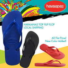 [$15.8 Weekend Sale!]2017 SS New Arriva!New Color Added Havaianas TOP Filp flop Local Fast Shipping