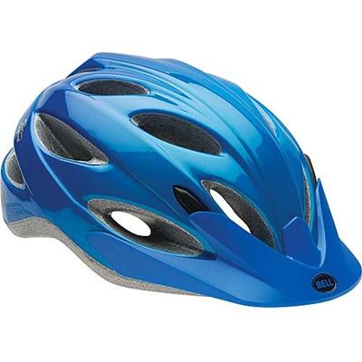◆即納◆ベル(BELL) ヘルメット PISTON / ピストン ACTIVE ブルーコメット UA/54-61cm 【自転車 サイクル レース 安全 二輪】の画像