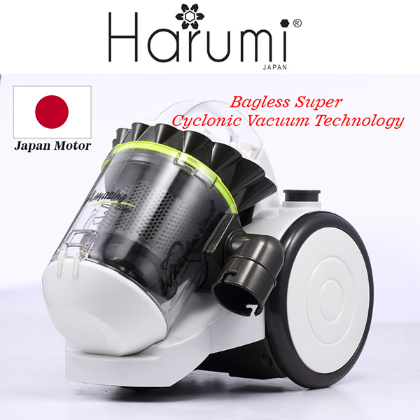 HARUMI 1400W BAGLESS SUPER CYCLONIC VACUUM TECHNOLOGY Deals for only S$89.9 instead of S$0