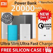 100% Authentic ★ Xiaomi Mi Power Bank 20000mAh 16000mAh 10000mAh PowerBank Portable Battery