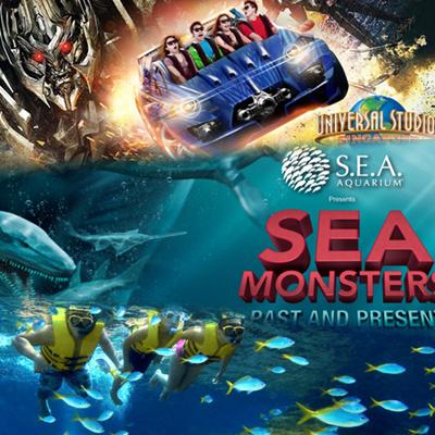buy multi park universal studio singapore ticket uss one day pass adventure cove waterpark