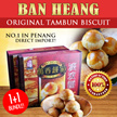 【1+ 1 Bundle of Ban Heang Original Tambun BIscuit】No.1 in Penang -Original Flavour at it very best!