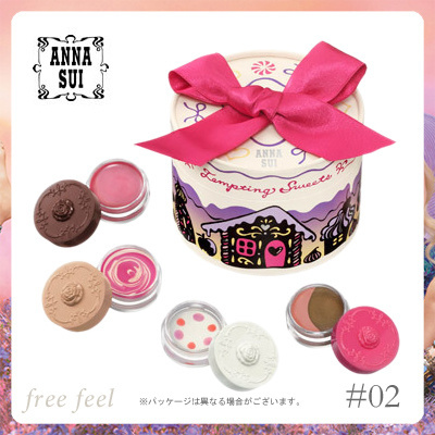 【ANNA SUI】アナスイ ホリデイ スイーツ コレクション  #02 シュガリースイーツ ANNA SUI  Holiday Sweets Collection #02 sugary sweet 【限定コフレ 2014冬】の画像