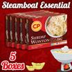[CP Food] 5 BOX BUNDLE - CP Signature Shrimp Wonton! 60 pcs (Frozen)