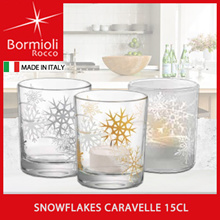 ★FREE GIVEAWAY 1 PC★BORMIOLI ROCCO★MADE IN ITALY★Snowflakes Cups★