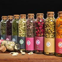 Natural Healthy Flower Tea Detox Beauty Slim Tea Rose Lavender Green Tea Stevia Gypenoside Chrysanth